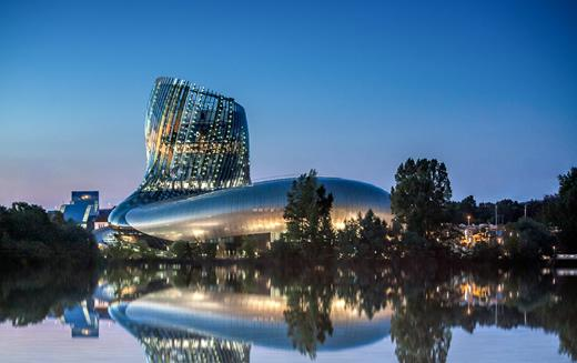 The new wine museum and experience in Bordeaux.