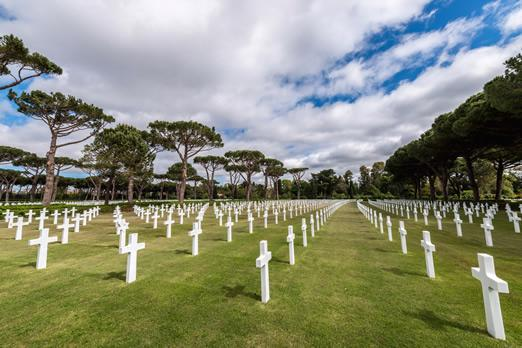 Normandy D-Day and Mont St. Michel Overnight: See the American Cemetery at Colleville-sur-Mer.