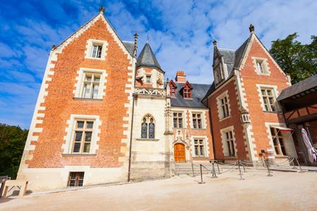 The exterior Clos Luce mansion in Amboise.