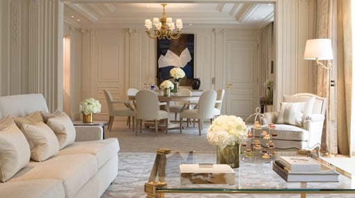 The best of Paris hotels - the Georges V.