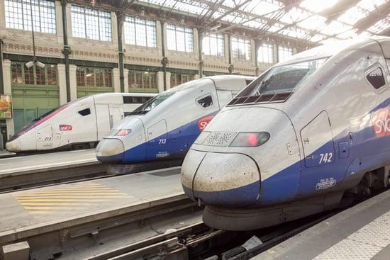 The TGV - the quintessential France train.