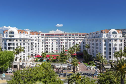 The Majestic Barriere hotel in the South of France
