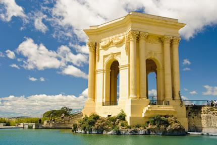 The Chateau d'Eau in Montpellier, France.