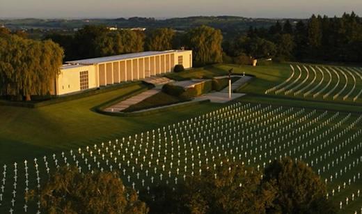 Battle of the Bulge Tour: Visit Henri Chapelle ABMC Cemetery
