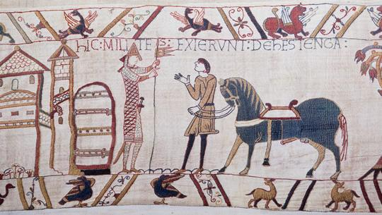 Le Havre Shore Excursions: See the Bayeux tapestry.