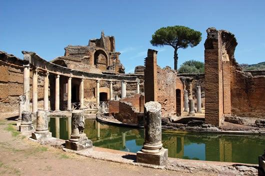 The ruins of Hadrian's Villa.