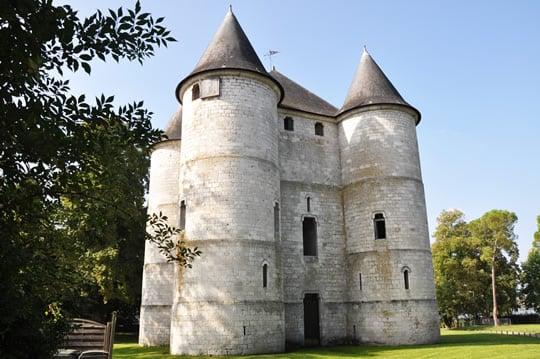 The Le Chateau des Tourelles, built in 1196