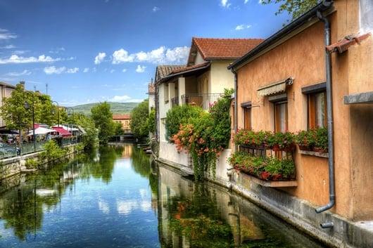 """Biking in Provence: Visit L'isle sur la Sorgue, France's """"Little Venice"""""""