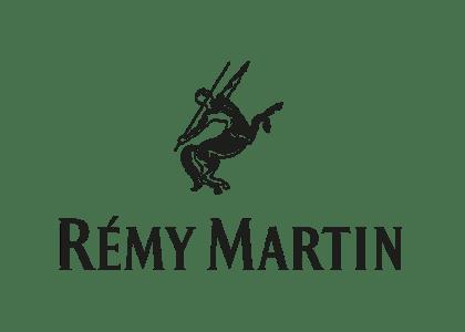 Remy Martin cognac logo.