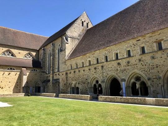 The 13th century Abbaye de L'Epau