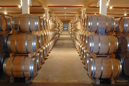 Barrels of Bordeaux!