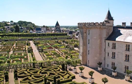 Loire Valley Vouvray Day Trip: Visit Villandry.