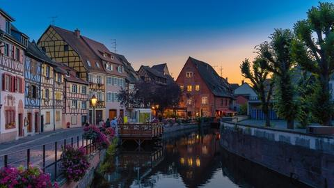 Strasbourg Day Tour from Paris: Wonderful Strasbourg at dusk.